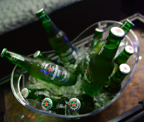 Bucket of Heineken Beers